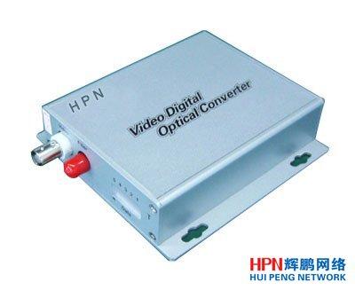 HPN1路正向视频+1路反向控制光端机