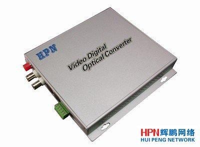 HPN2路正向视频+1路反向控制光端机