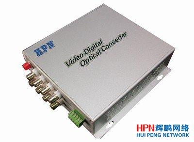 HPN8路正向视频+1路反向控制光端机