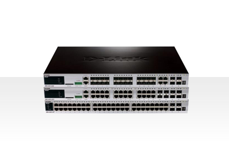 D-Link DGS-3420系列 万兆上联堆叠网管交换机