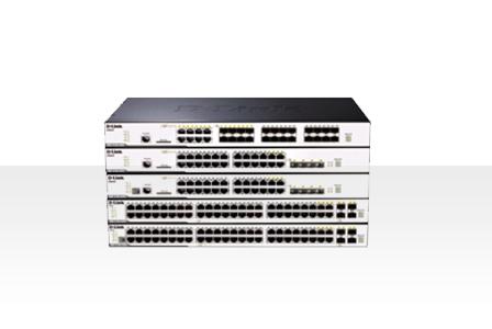 友讯D-Link DGS-3120系列 二层千兆网管交换机