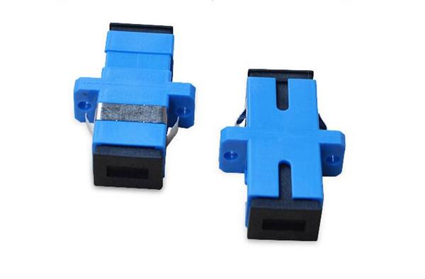 SC单模耦合器_SC光纤适配器