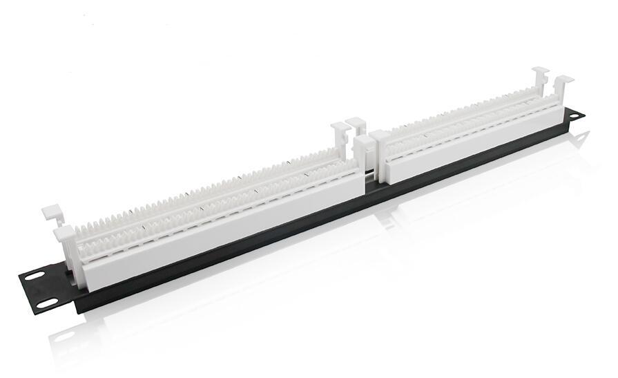 110型100对机架式跳线架(含连接块)