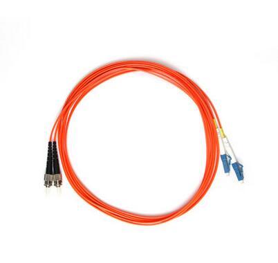 LC-ST多模双芯3米光纤跳线_双芯光纤跳线
