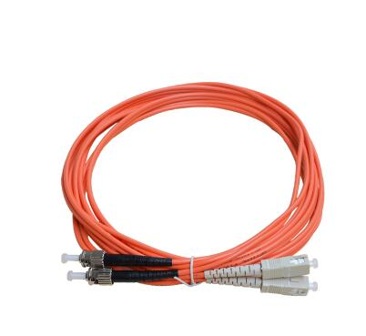ST-SC多模双芯光纤跳线_多模跳线