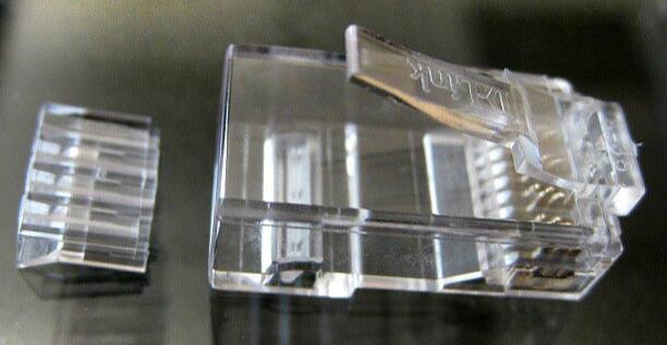 六类RJ45水晶头_网线水晶头