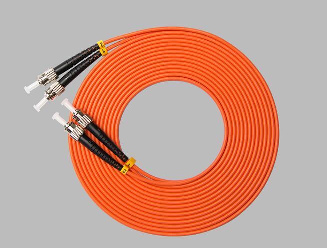 光纤跳线_ST-ST多模双芯跳线